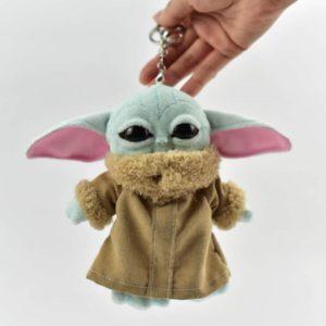 Roztomilá plyšová klíčenka Baby Yoda