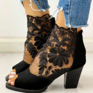 Elegantní boty na podpatku Rachel