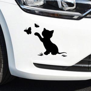 Módní roztomilé kočičí samolepky