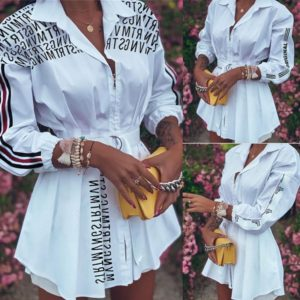 Dámské košilové Plus size šaty