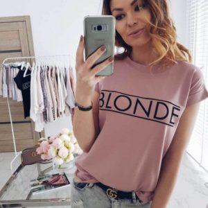 Fashion dámské Blonde tričko