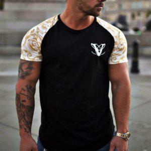 Pánské neformální fitness tričko s krátkým rukávem