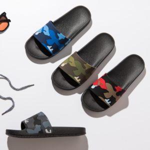 Pánské maskáčové pantofle