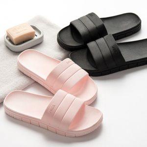 Unisex jednobarevné letní pantofle