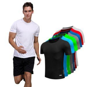 Sportovní jednoduché pánské triko