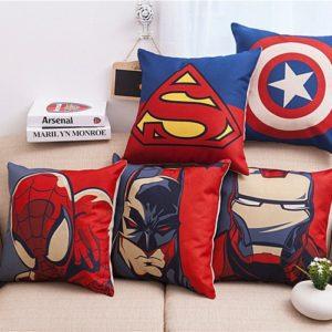 Marvel bavlněný potah na polštáře