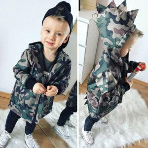 Dětská stylová army bunda pro chlapce
