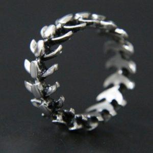 Prsten - rybí kostra