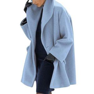 Dámský elegantní jarní kabát