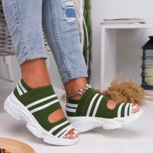 Dámské letní slip on sandálky