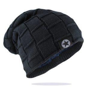 Unisex pletená zimní čepice