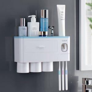 Víceúčelový koupelnový organizér