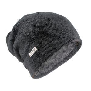 Módní teplá pánská čepice