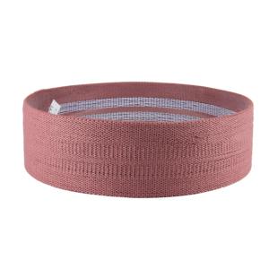 Odporová guma na cvičení ve starorůžové barvě