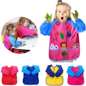 Dětská dvoubarevná zástěra na malování