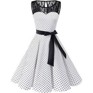 Dámské párty šaty ve stylu vintage Caroline