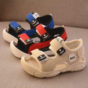 Dětské letní sandálky s měkkou podrážkou